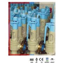 2-дюймовый ручной предохранительный клапан для перегретого пара