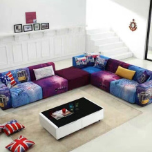 Corner Couches L Shaped Fabric Sectional Sofa