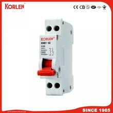 DZ47 Mini circuit breaker 1p 2p 3p 4p AC/DC type MCB with CE CB SEMKO SIRIM