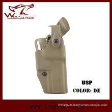 Étui de pistolet tactique Safriland 6320 pour étui de pistolet USP