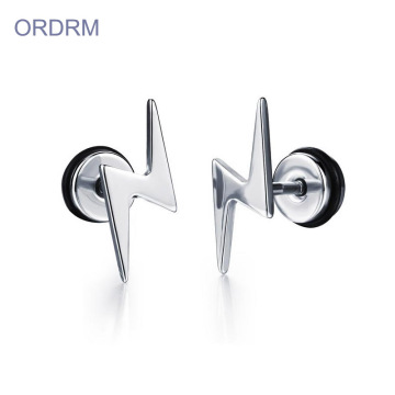 Mát đèn flash Stud Earrings cho nam giới