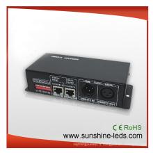 DMX 512 LED RGB Light Controller, décodeur DMX