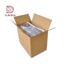 Bonne qualité écologique recyclable en gros boîte d'emballage en carton