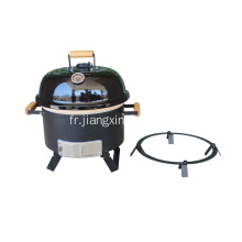 Barbecue de table au charbon de bois Kamado 18 ""