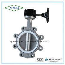 Cast Iron Lug Type Butterfly Valve with Gear