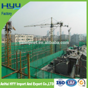 Construction safety net for building protection building hardware