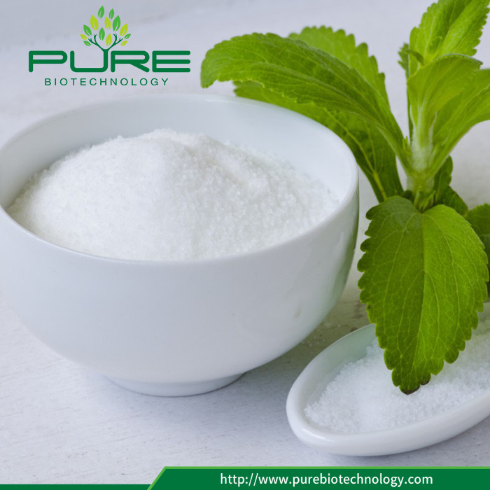 Calorie Free Bulk pure Stevia Leaves Extract Powder (4)