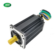 130mm 48v 3kw BLDC Servo motor with brake