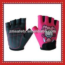 Cut finger bike gloves for kids