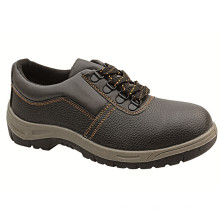 Ufa012 Low Price Black Steel Toe Safety Shoes