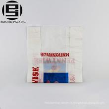 Recyclage des sacs en plastique t-shirt pour l'emballage