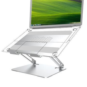 Soporte plegable para computadora portátil Soporte ajustable de aluminio para tableta