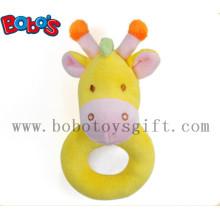 "6 ""Yellow Giraffe Plush bebê titular brinquedos"
