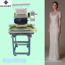 high speed single head embroidery machine with good quality and cheap price