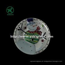 Única parede cor placa de vidro por SGS (klp110824-51)