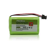 venta al por mayor alibaba nimh batería del teléfono inalámbrico AA 2.4V 1500MAH, batería recargable del teléfono inalámbrico