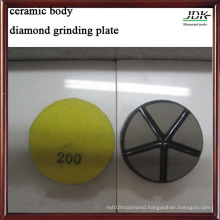 Ceramic Body Grinding Plate for Concrete