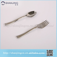 Disposable Mini fork and spoon plastic cutlery