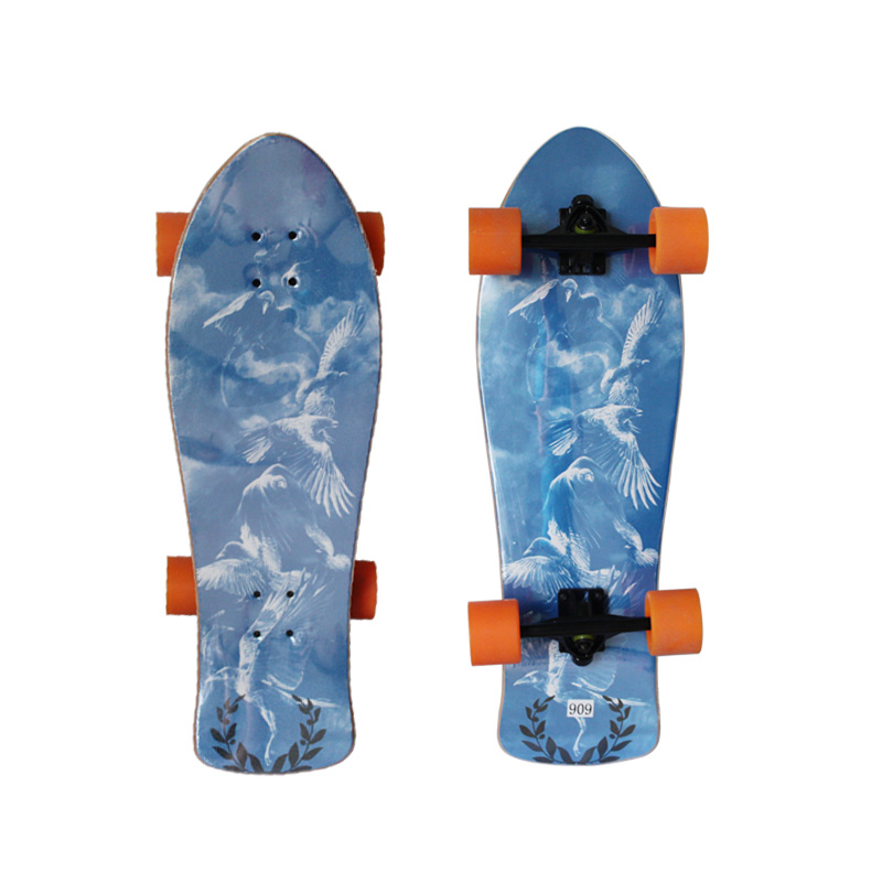 Double Concave Skateboard