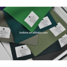 High end light lycra wool green suit custom fabric