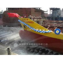 Airbags marinos para elevación de buques