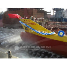 Морской подушки безопасности для корабля поднимаясь
