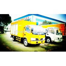 4X2 unidad de tratamiento de filtración de agua de Dongfeng camión de procesamiento de agua pura / aguas residuales purificar el camión de capacidad 3-12CBM