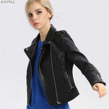 Spring New Fashion Leather Women Slim European and American Fashion Design New Style Jacket