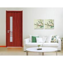 Puertas de madera de diseño popular en dubai E-S020