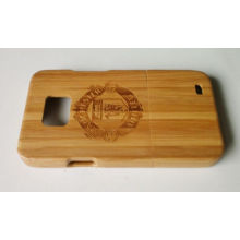 Customized Bamboo Wooden Hard Shell Case For Samsung Galaxy S2