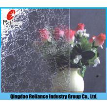 3.5mm Clear Rose / Flora / Nashiji / Mistlite / Karatachi Figured / Pattern Glass