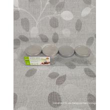 4 paquete de cocina de especias de vidrio
