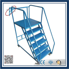 Galvanized Steel Ladder For Book Case