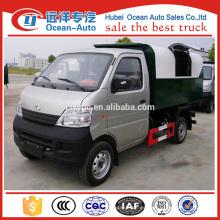 Changan 2 ~ 3cbm camión de basura de residuos de capacidad