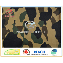 240t Poly Pongee Desert Camouflage Printing Fabric (ZCBP120)