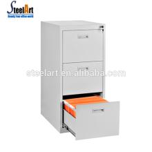 Cabinet de document en métal de tiroir de la taille A4 / A3 de vente chaude