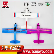 2015 popular Model Foam RC Glider Electric rc Airplane 2.4G RC sailplane SJY-FX805