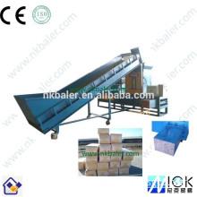 High Pressure Rice Husk Baler Packing Machine