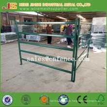 Heavy Duty Green Powder Coated 6 Rails 2.1*1.8m Livestock Fence Farm Fence Cattle Fence Cattle Yard Panels