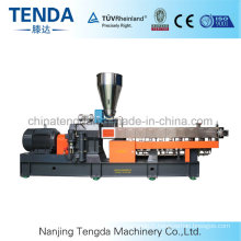 Rubber Twin Screw Extruder Plastic Sheet Extrusion Machine