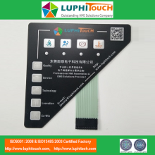 Tactile LGF Backlight Dashboard Membrane Keypad