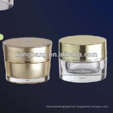 Embalagem cosmética com frasco de parede dupla