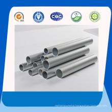 Aluminium Tubes with Satin Clear Anodize Finish