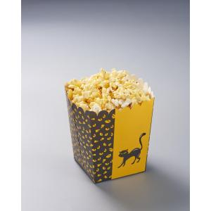 Popcorn box with Halloween Cat Printing