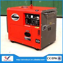 Профессиональный двигатель морской 5 кВА молчание дизельного генератора цена