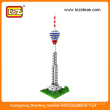 Wholesale Kuala Lumpur Tower LOZ Micro Building Blocks Diamond Bricks Toys
