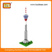 Atacado Kuala Lumpur Tower LOZ Micro blocos de construção de diamantes Bricks Brinquedos