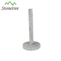 Hot-selling Hand Made Unique White Marble Kitchen Paper Towel Holder