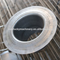 Galvanized bag filter cage
