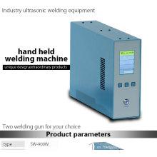 Manual de mano de ultrasonidos de plástico de soldadura de la máquina